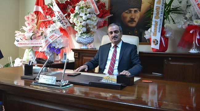 Yol İş Sendikası Erzurum 1. Nolu Şube Başkanı Ömer Karaca, 19 Eylül Gaziler Günü dolayısıyla bir mesaj yayımladı.