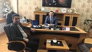 Koop-İş Sendikası Erzurum Şube Başkanı Tarık Toğrul,bir takım ziyaretler