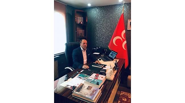 MHP Erzurum İl Başkanı Karataş'tan Barış Pınarı Harekatı'na tam destek