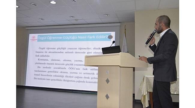 AÇSH personeline 'Çocuklarda Özgül Öğrenme Güçlüğü' semineri