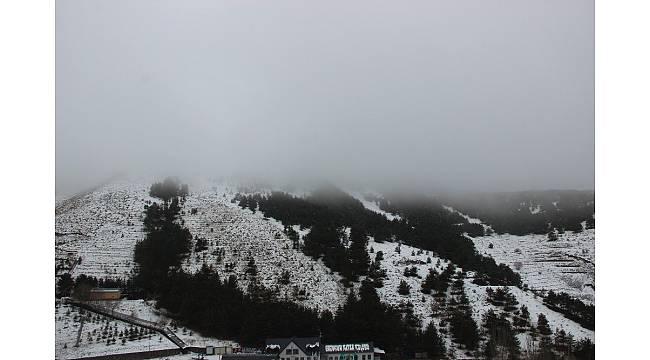 Erzurum güne sis ile uyandı