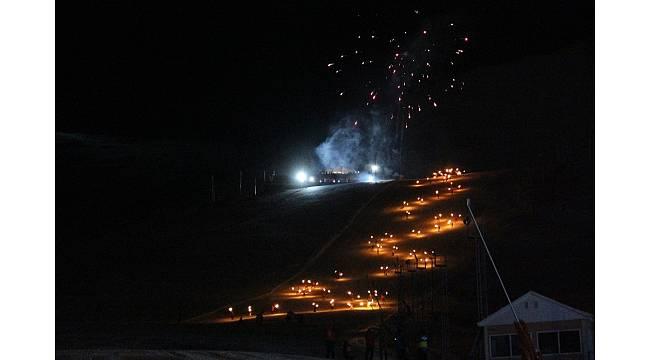 Palandöken'de meşaleli sezon açılışı