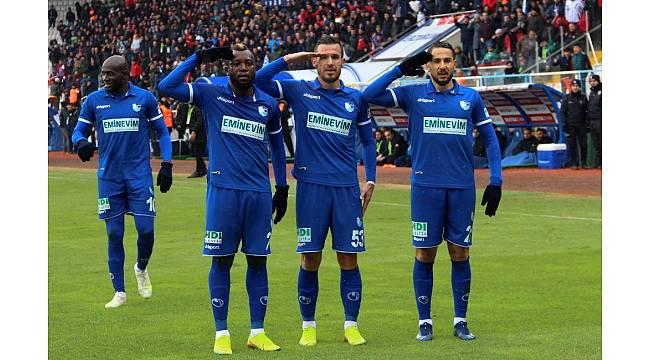 TFF 1. Lig: BB Erzurumspor: 2 - Menemenspor: 0
