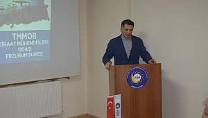 Ziraat Mühendisleri Odası Erzurum Şube Başkanı Okan Demir, kıtlık ve açlık sorunu yaşamamak için ülkemizde derhal