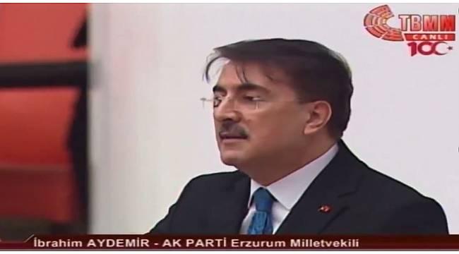 Milletvekili Aydemir Yerli ve Milli üretime dikkat çekti